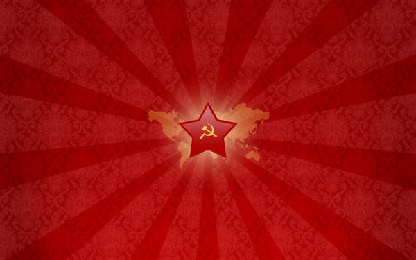 Wallpaper Red star by clavette33