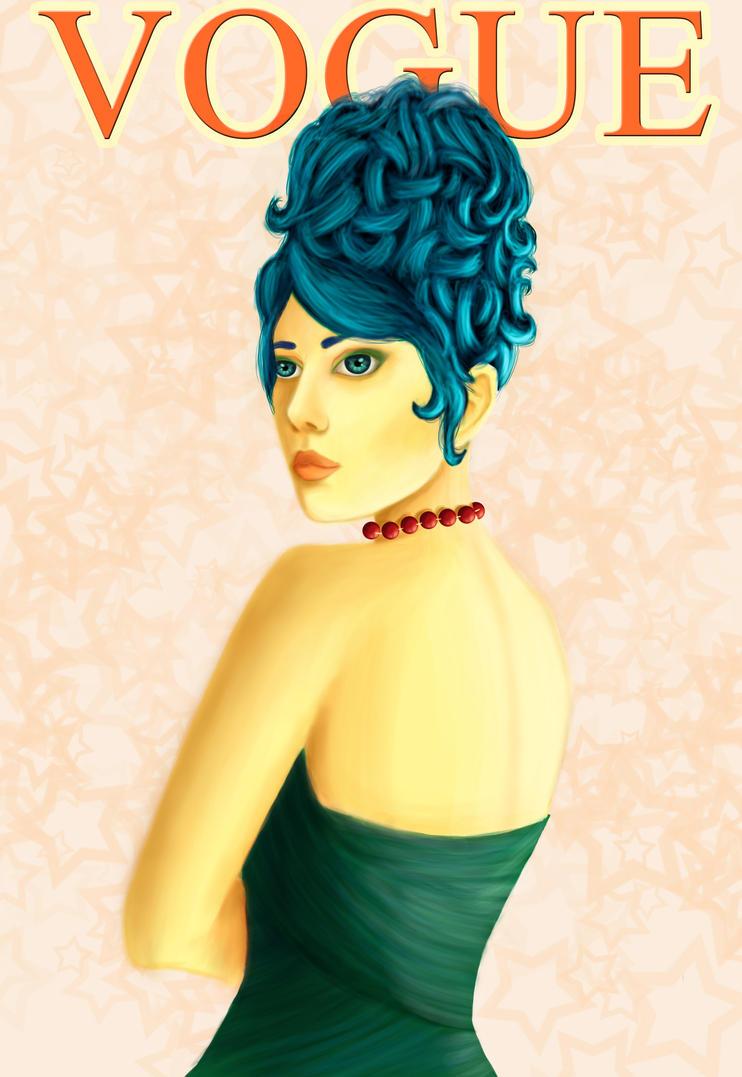 Humanization I - Marge Simpson by MsLinn
