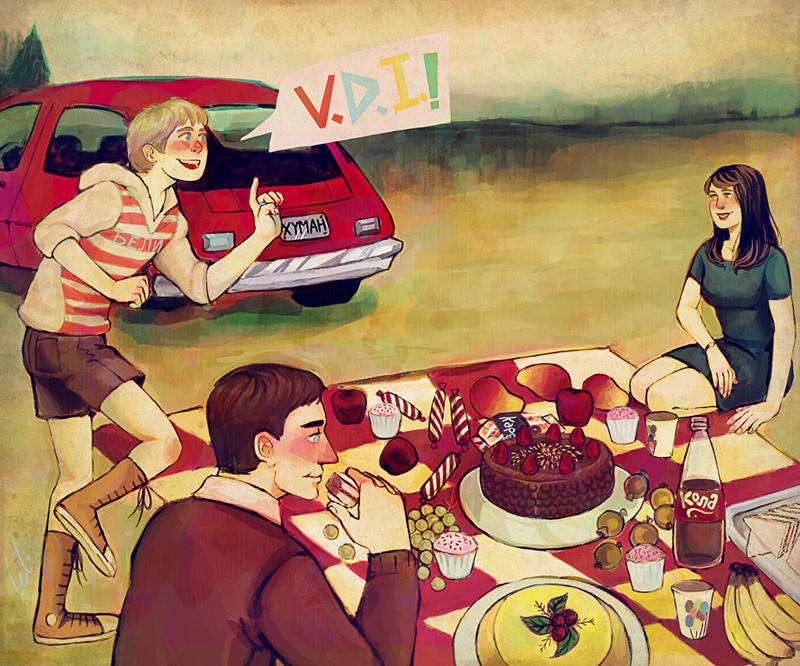 viernes de ilustracion by belicosa