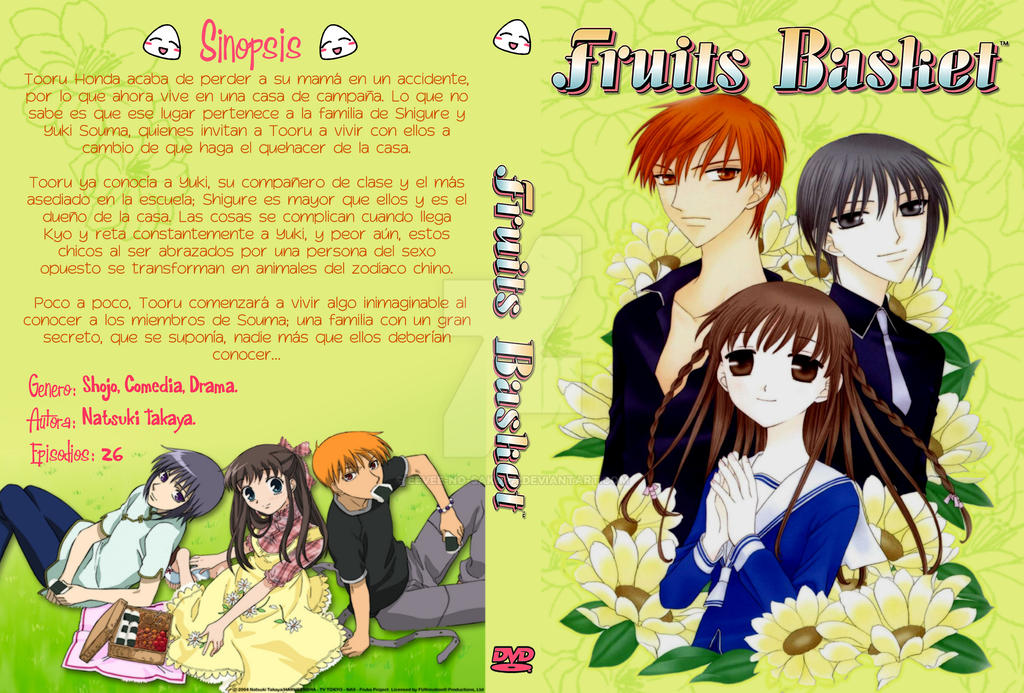 fruit in spanish fruits basket manga