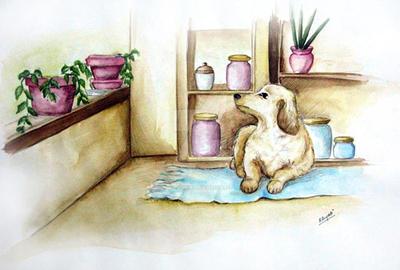 dog by khyati-mehta