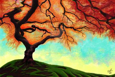 Tree. by khyati-mehta