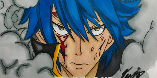 Jellal painted by ME!