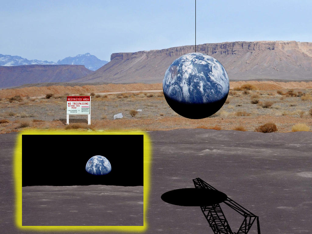 Proof of Fake Moon Landing by stoneroman on DeviantArt