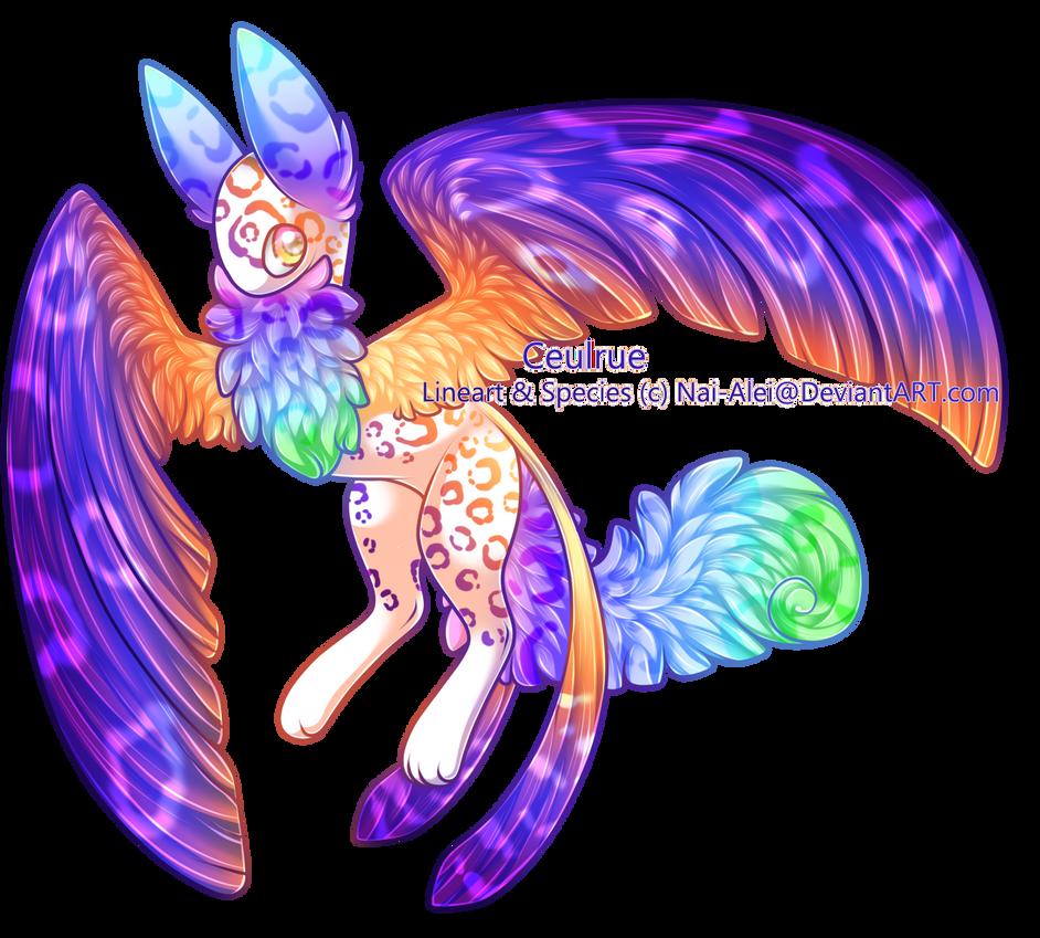 Flash-of-the-Phoenix: Ceulrue by Konokiri