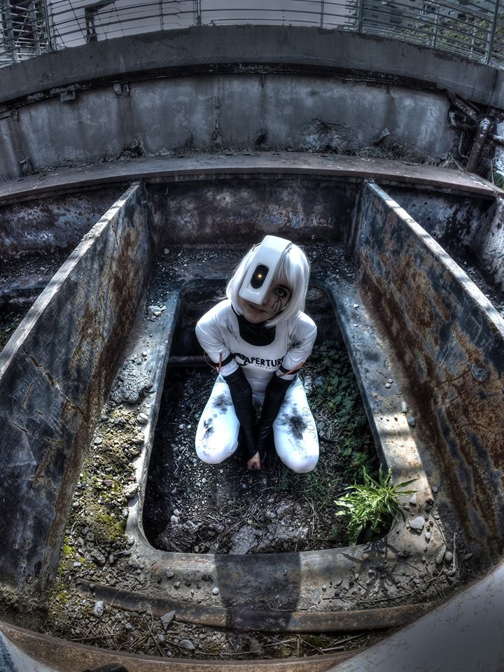GLaDOS cosplay by Wendyland