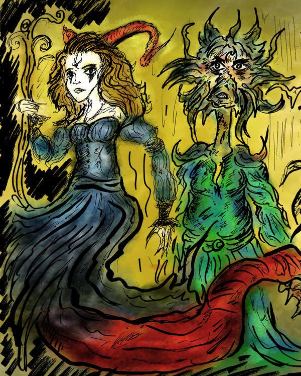 Fantasy concept art 4 by somnium79