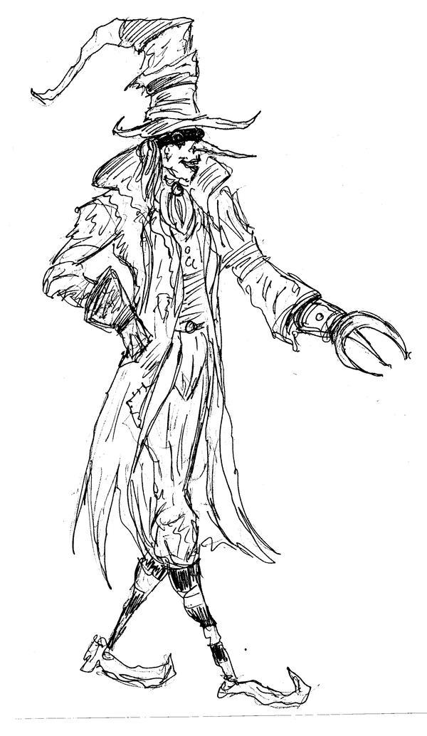 Mad Hatter steampunk by somnium79