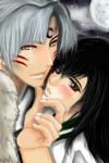 Sesshomaru and Kagome by KaoruMoonGoddess