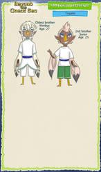 BtGS: Tegami Extra Refs by jiru-chan
