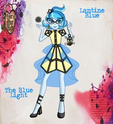 Ever After High OC: Lantine Blue by jiru-chan