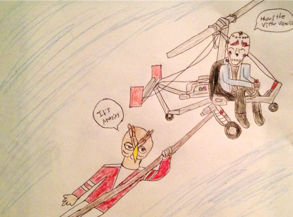 Vanoss H2O Far Cry 4 by TheZombieQueen23 on DeviantArt H20 Delirious Drawings