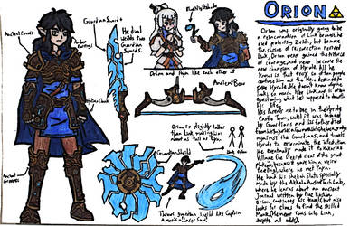 Orion (BOTW Original Character) by lasercraft32