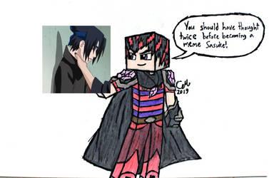 TimeRift Sasuke Meme by lasercraft32