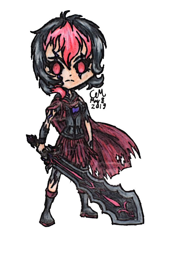 Violet, Time Killer by lasercraft32