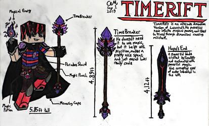 TimeRift (Character Sheet)
