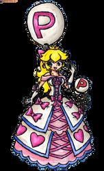 P-Balloon Princess Peach