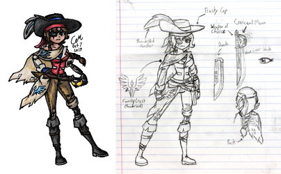 Captain Romani (Original Character Challenge)