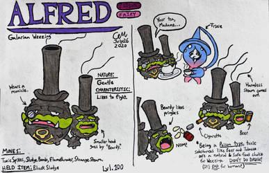 Alfred (Galarian Weezing)