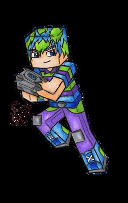 Lasercraft (Original Character)