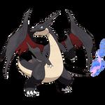 Shiny Mega Charizard Y (My Version)