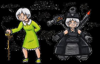 Grann-E (Original Character)