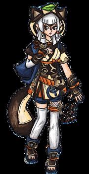 Paya with Sayu's Outfit