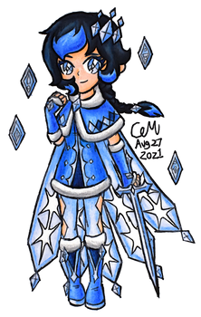Icefall Violet (Original Character)