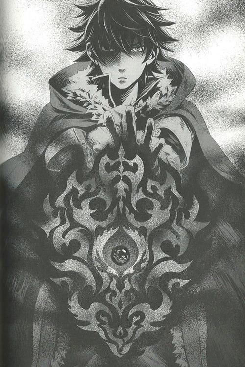 Shield Hero Curse Series Shield Of Rage Wrath Fury by laclongquan