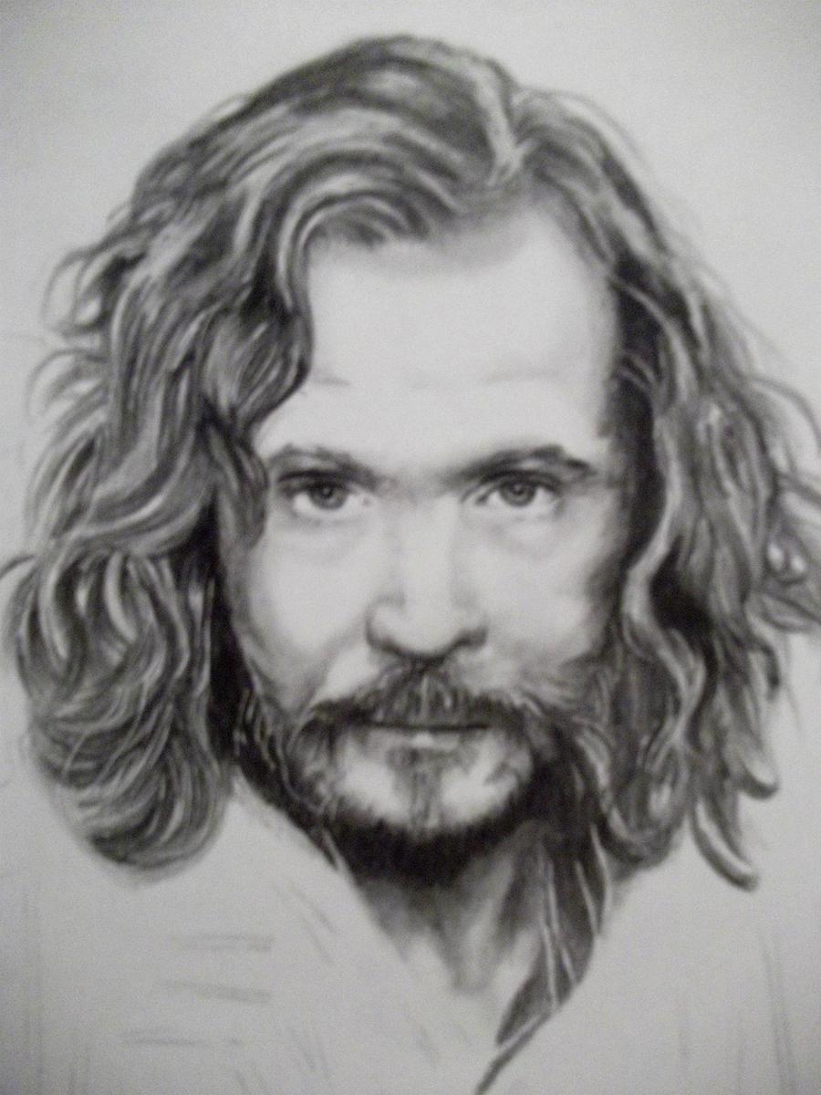 Gary Oldman Sirius Black By Bismarsantiago Traditional Art Drawings