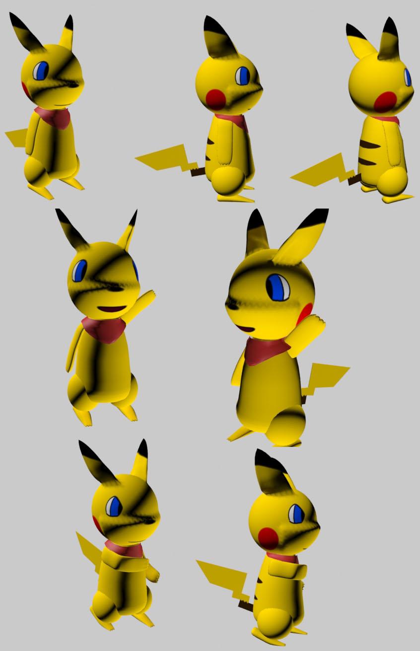 Pokemon Pikachu 3d Origami Images   Pokemon Images