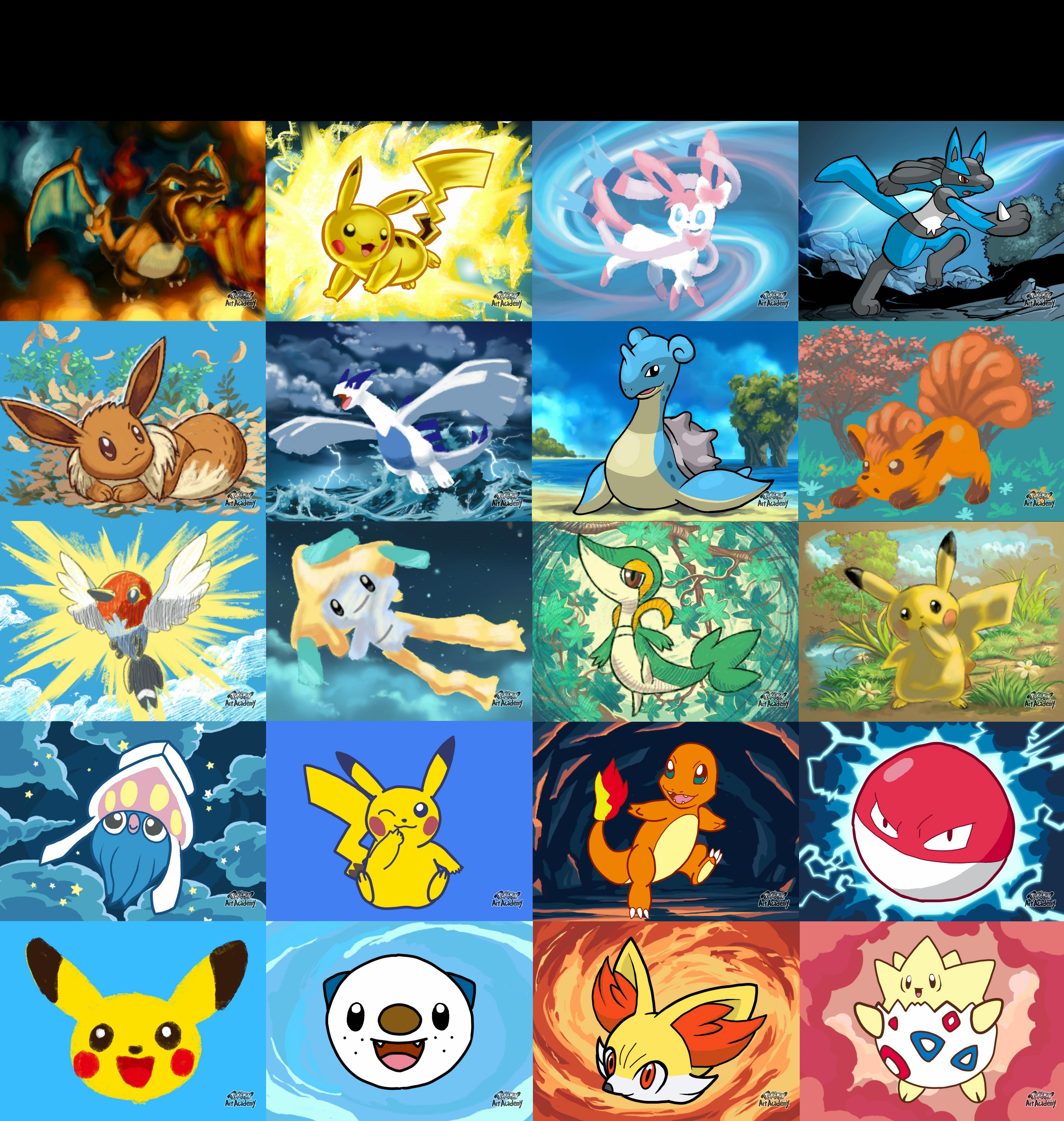 Pokemon Art Acadamy Lessons
