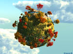 Autumn Planet by LunaNegra