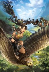Witch Druid by Alayna