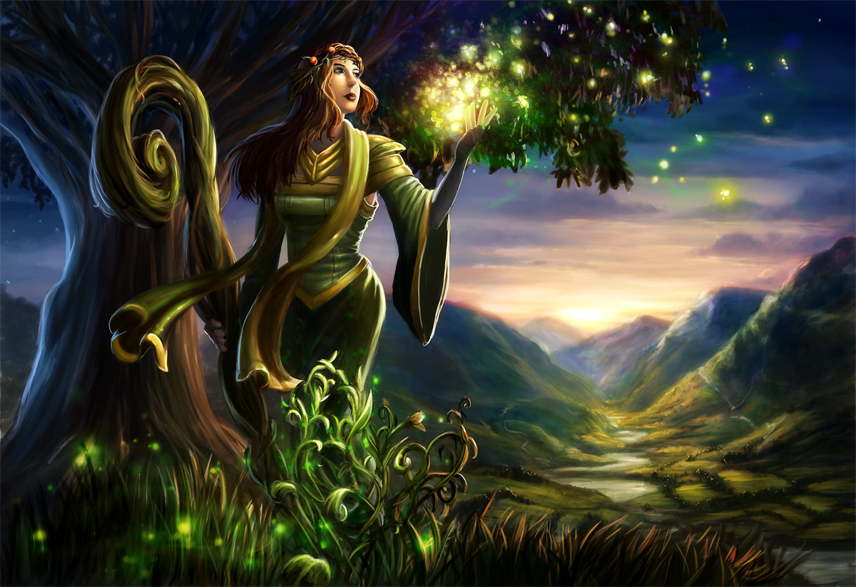 Earth Light by Alayna on DeviantArt