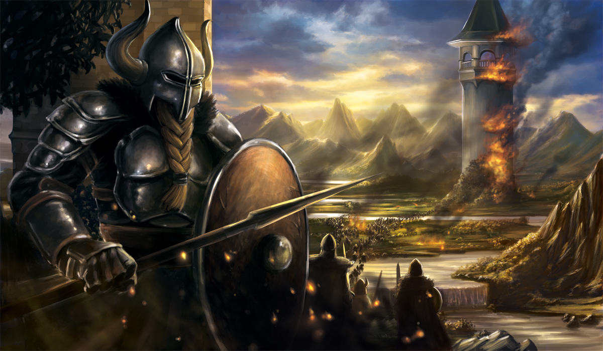 Viking assault on the Twin Cities- GP Minneapolis by Alayna