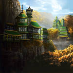 The Remote Monastery of the Dragon