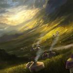 The Golden Plains of the Unicorn Ivory 2