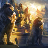 The Grand Halls of Lion by Alayna