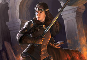 Dominion Adventures: Fighter by Alayna