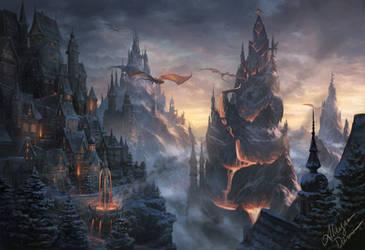 Noka, City Of Fire by Alayna