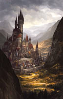 Deephollow Border Town by Alayna