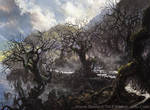 Magic: The Gathering- Swamp for M19 Standard