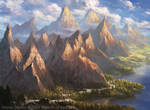 Magic: The Gathering- Mountain for M19 Standard