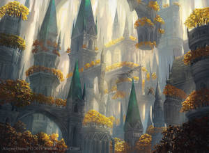 Selesnya Forest from M:tG Guilds of Ravnica
