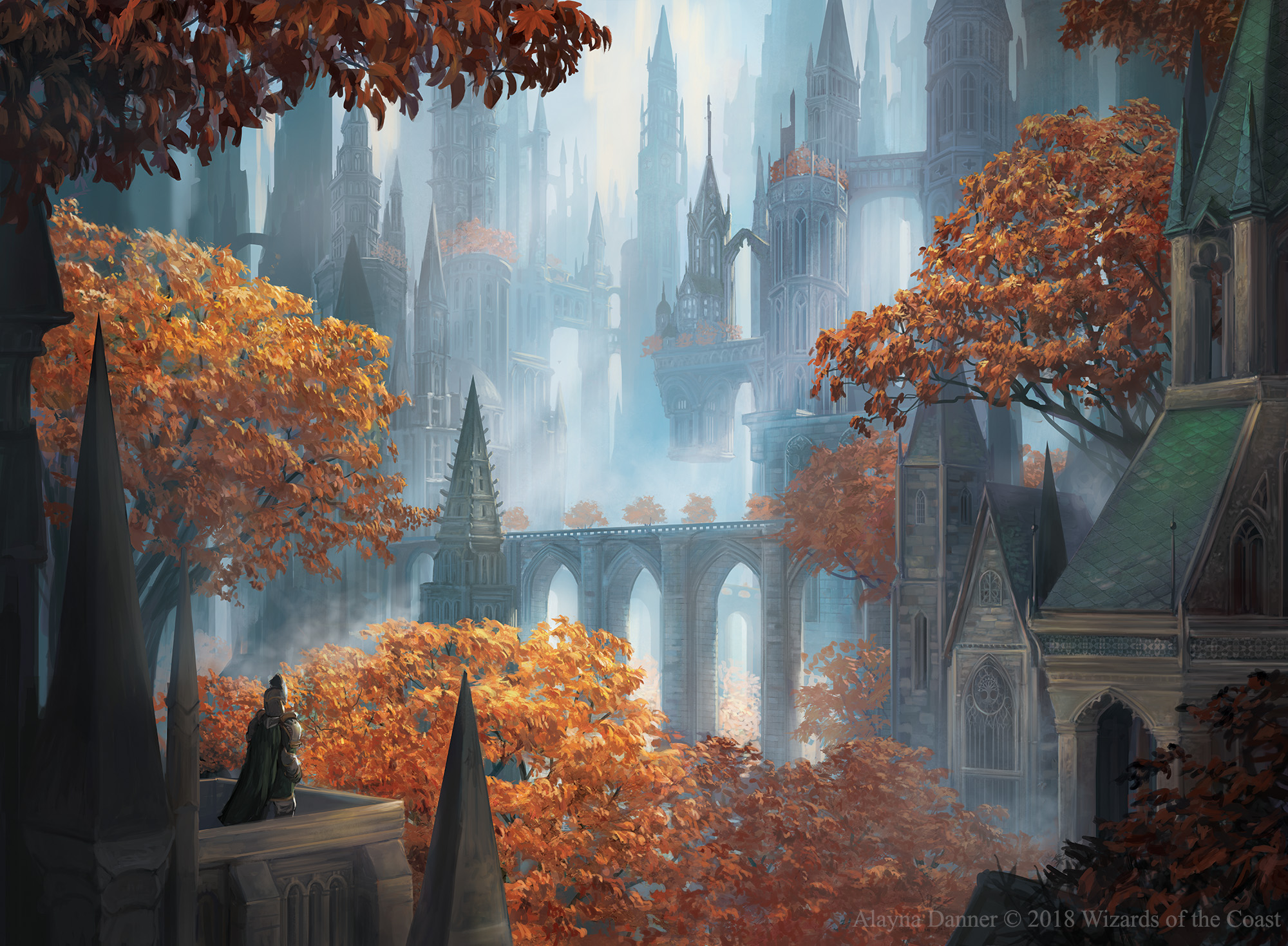 Pause for Reflection from Magic: The Gathering GRN by Alayna