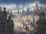 Azorius Plains- Magic: The Gathering Ravnica