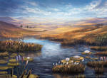 Magic: The Gathering- Marsh Flats