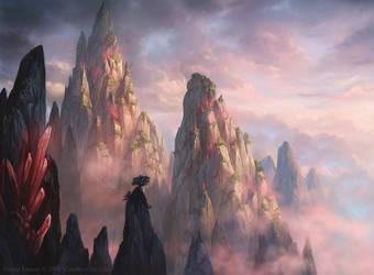 Magic: The Gathering- Ikoria Mountain