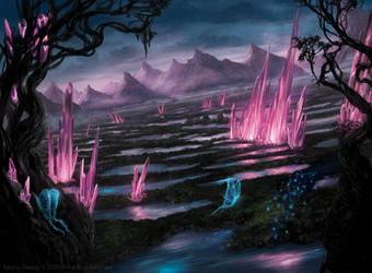 Magic: The Gathering- Ikoria Swamp